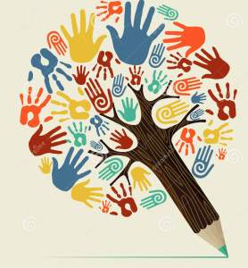 árbol-del-lápiz-del-concepto-de-la-mano-de-la-diversidad-32017681