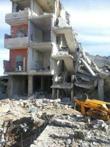 kobane destruida
