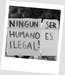 Ningiun ser humano es ilegal