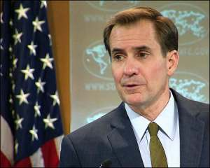 US-State-Department-spokesman-John-Kirby-sept-2015-photo-c-span
