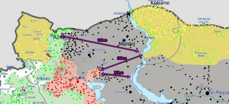 Afrin mapa de situacion