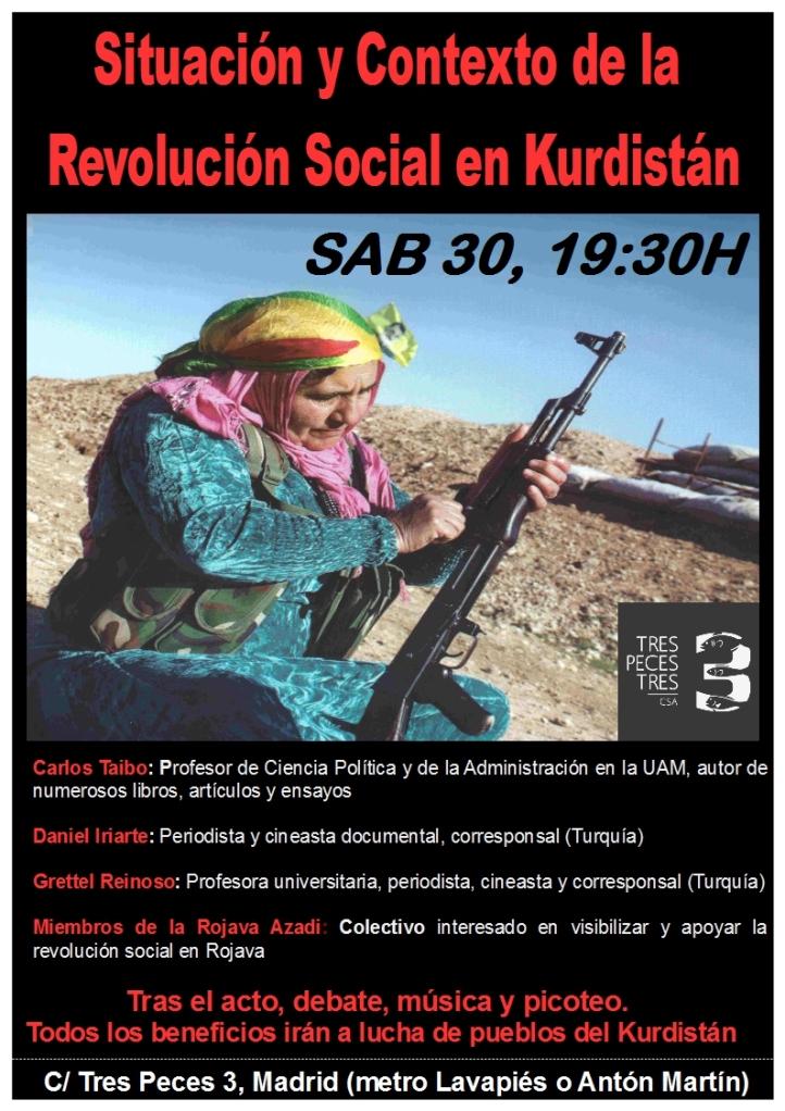 charla RojavaTres Peces3