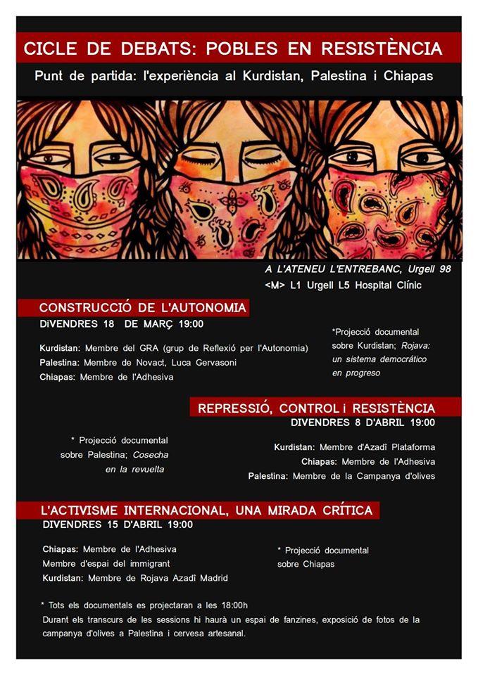 cartel ciclo debates Entrebanc