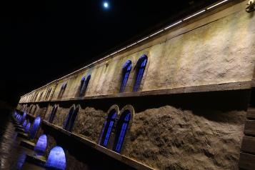 Antigua carcel de mujeres construida sobre el rio Rin
