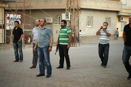 Fotografía tomada durante el toque de queda del 2011 en la ciudad de Nusaybin