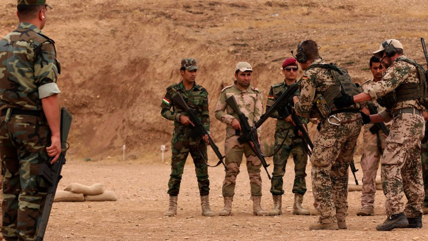 IRAQ-SYRIA-CONFLICT-GERMANY-KURDS-FILES