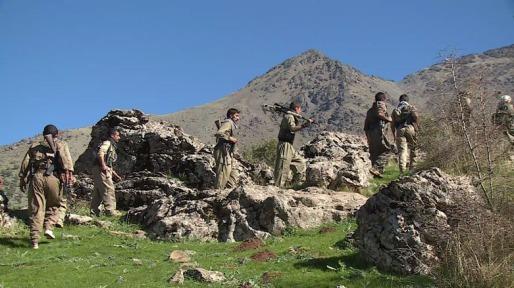 Peshmerga del Partido Democrático del Kurdistán Iraní. (Foto: sitio web de PDKI)
