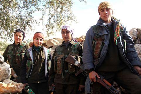 kobane-emakumeak